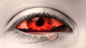 Zmęczone oczy